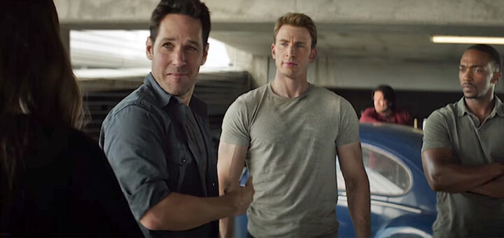 Paul Rudd & Chris Evans