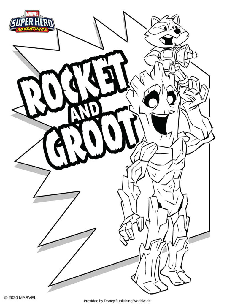 Free Collection of Marvel Coloring Pages - MarvelBlog.com