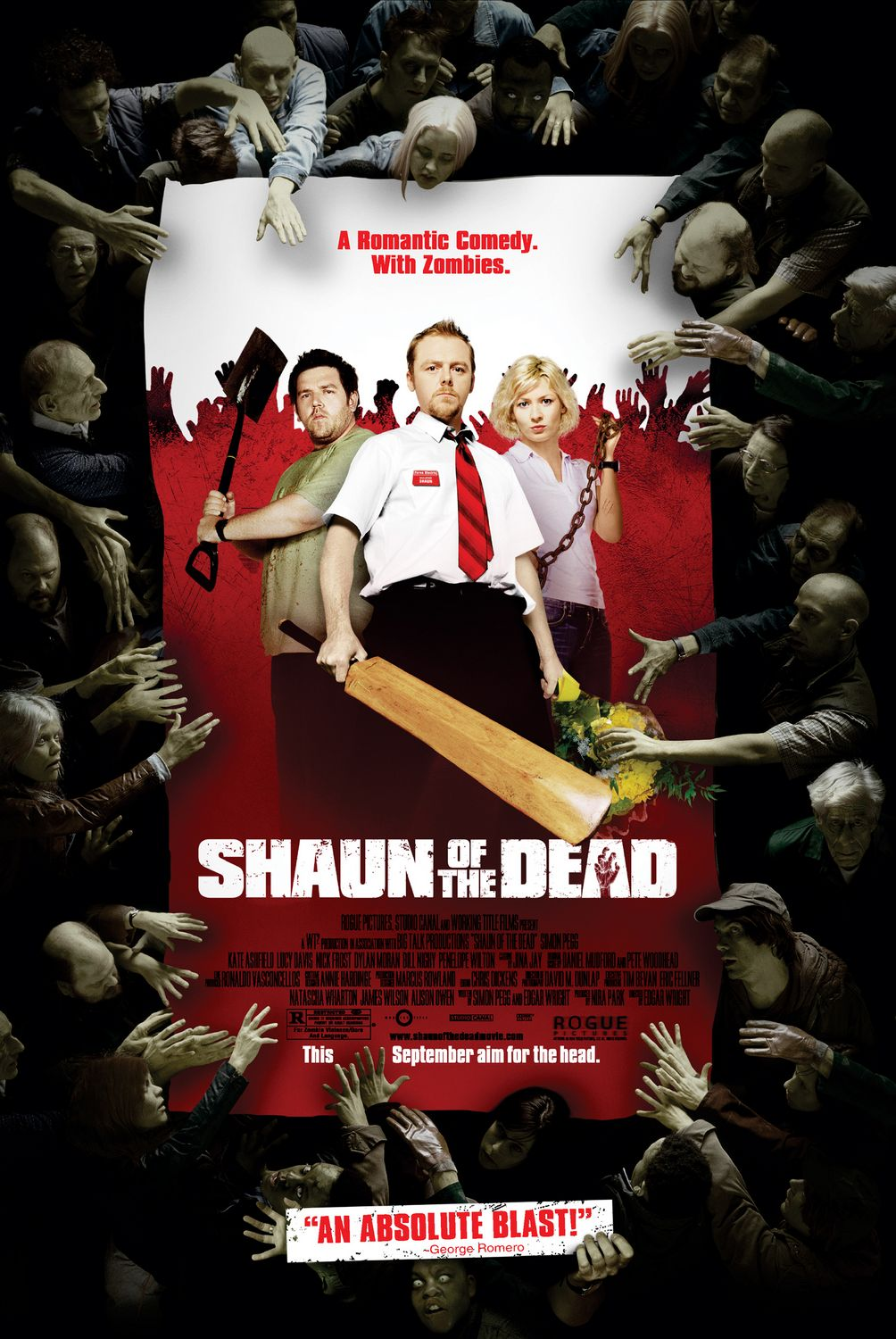 Shaun of the dead , history
