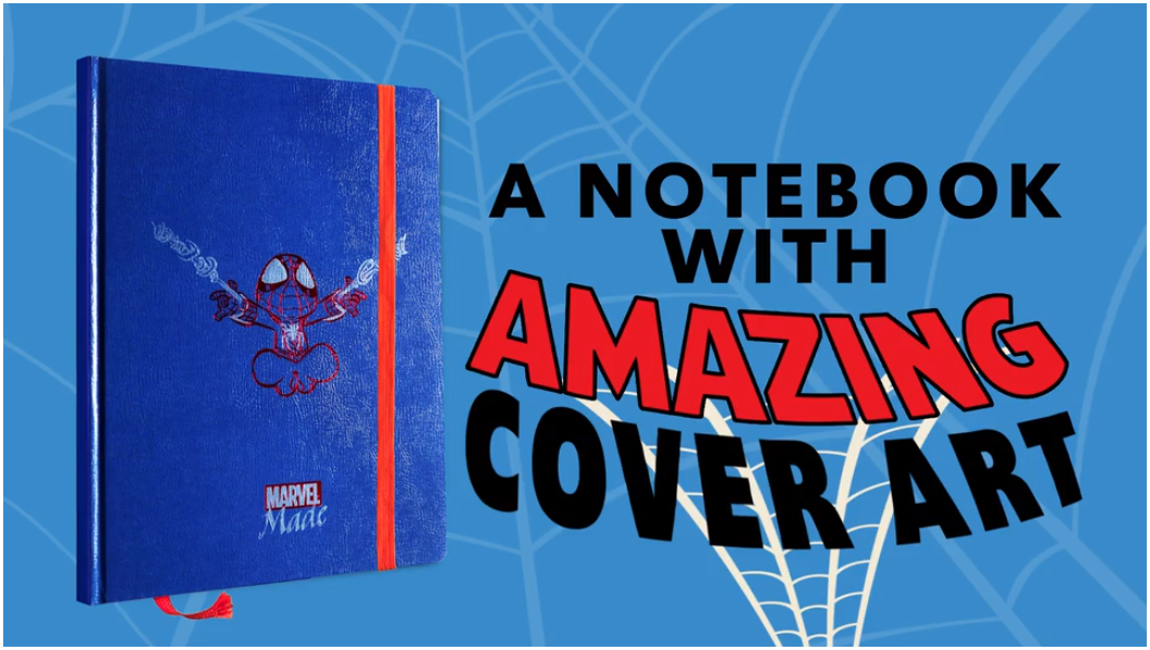 Marvel Made Artists Notebook
