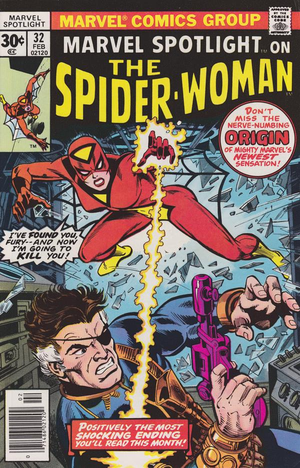 Spider-Woman Comic Cover Art