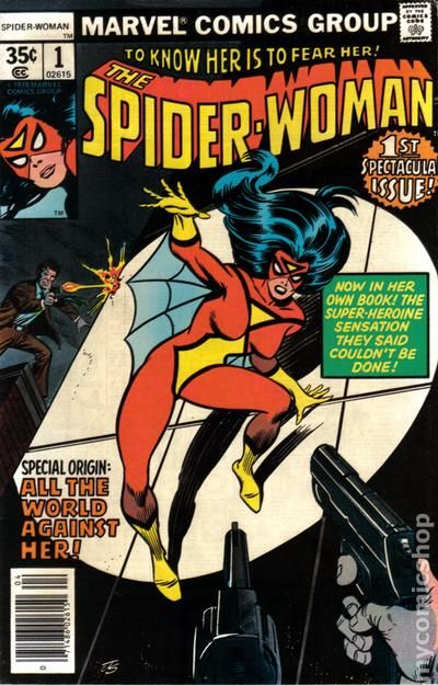 spider woman first issue in comics