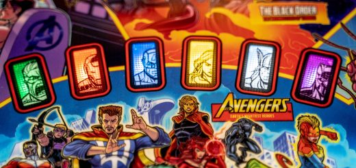 avengers infinity quest pinball game