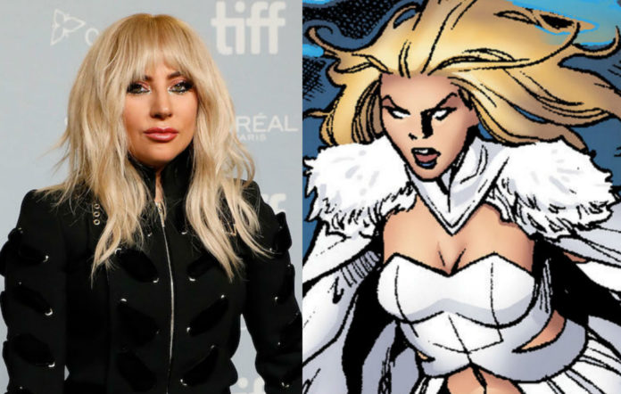 lady gaga may join Marvel Studios as Emma Frost