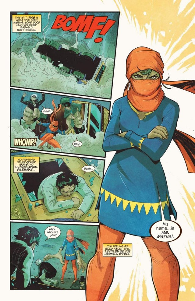 ms. marvel comic kamala khan