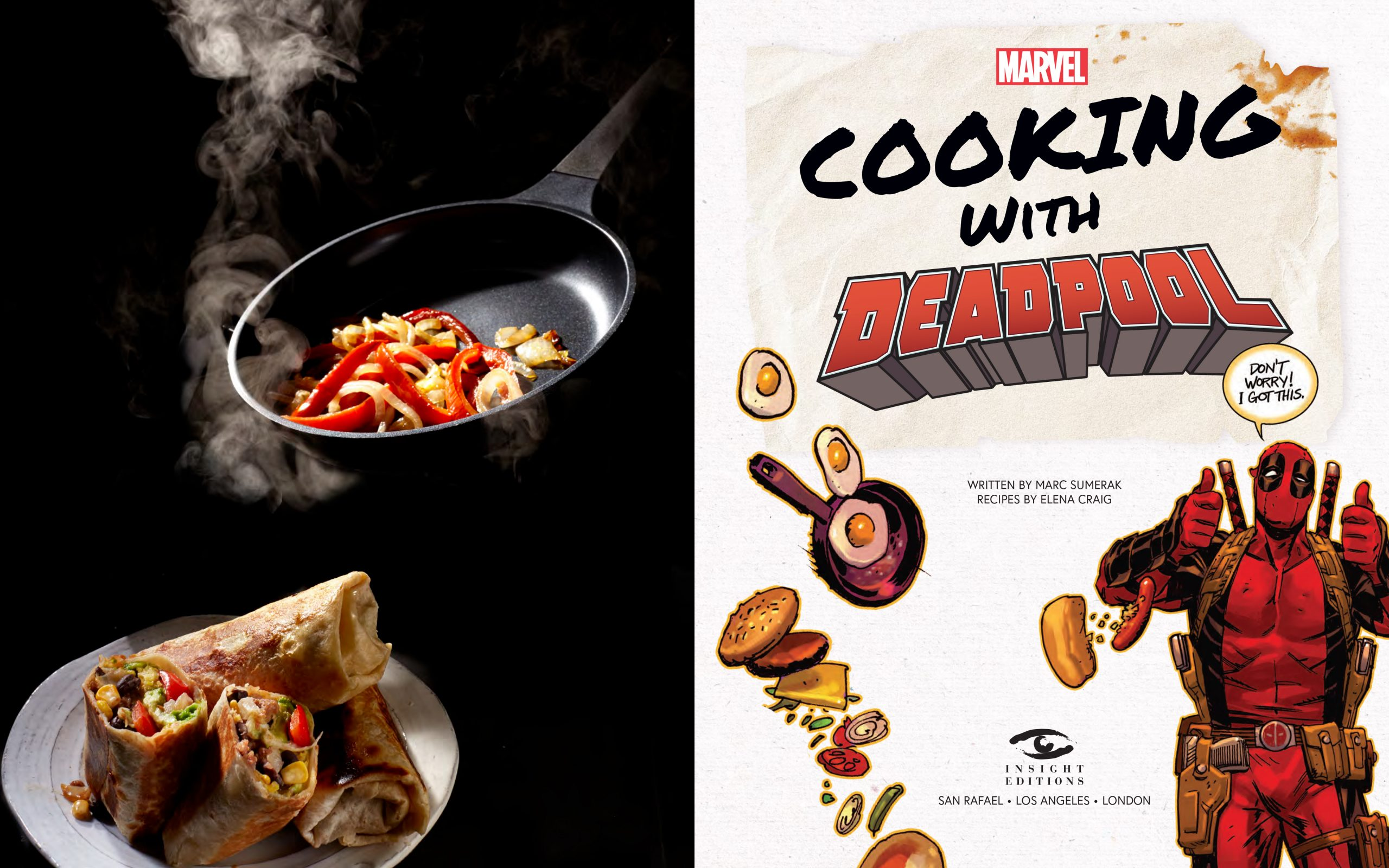 COOKING WITH DEADPOOL