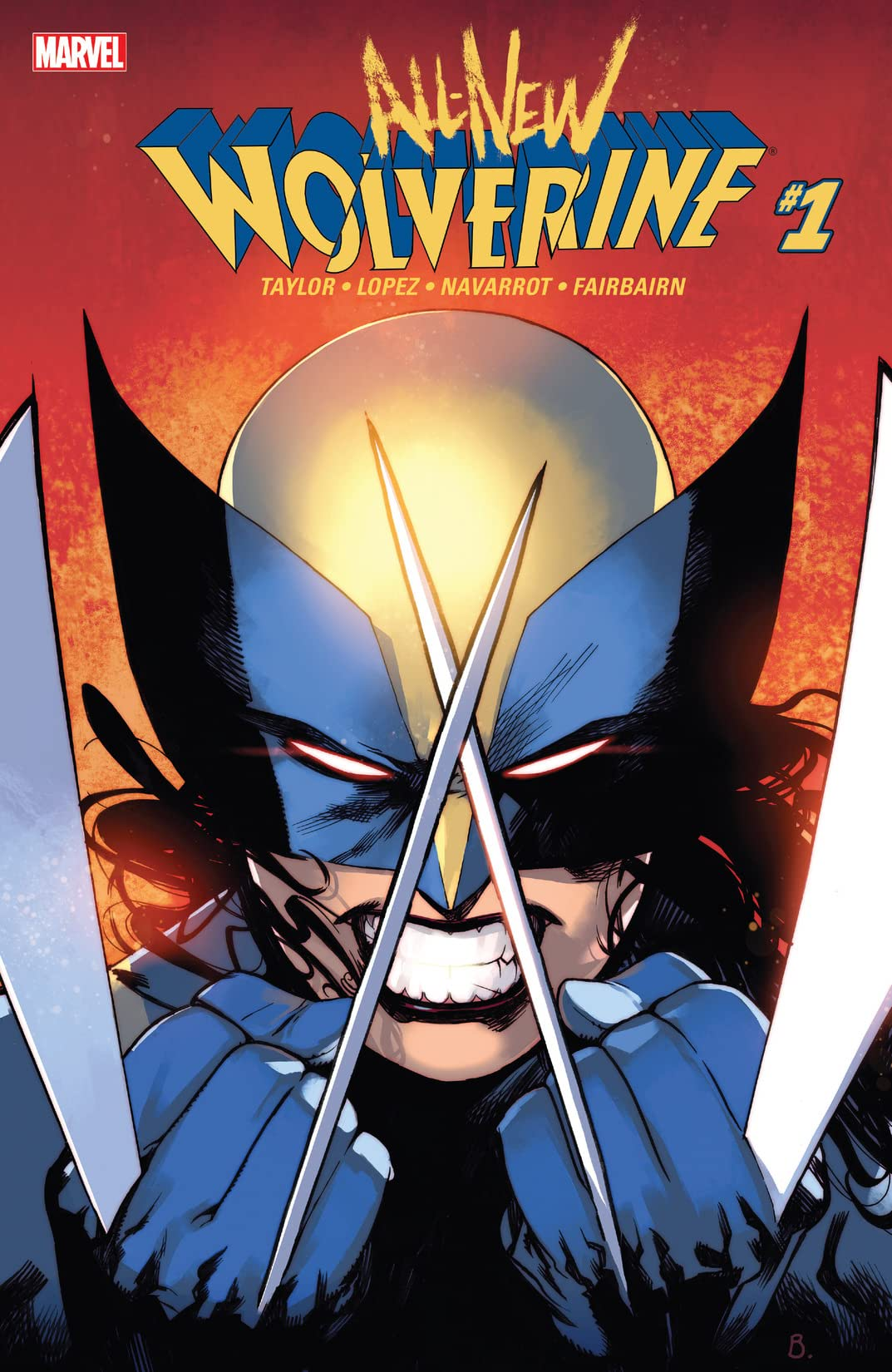 All-New Wolverine (2015) #1