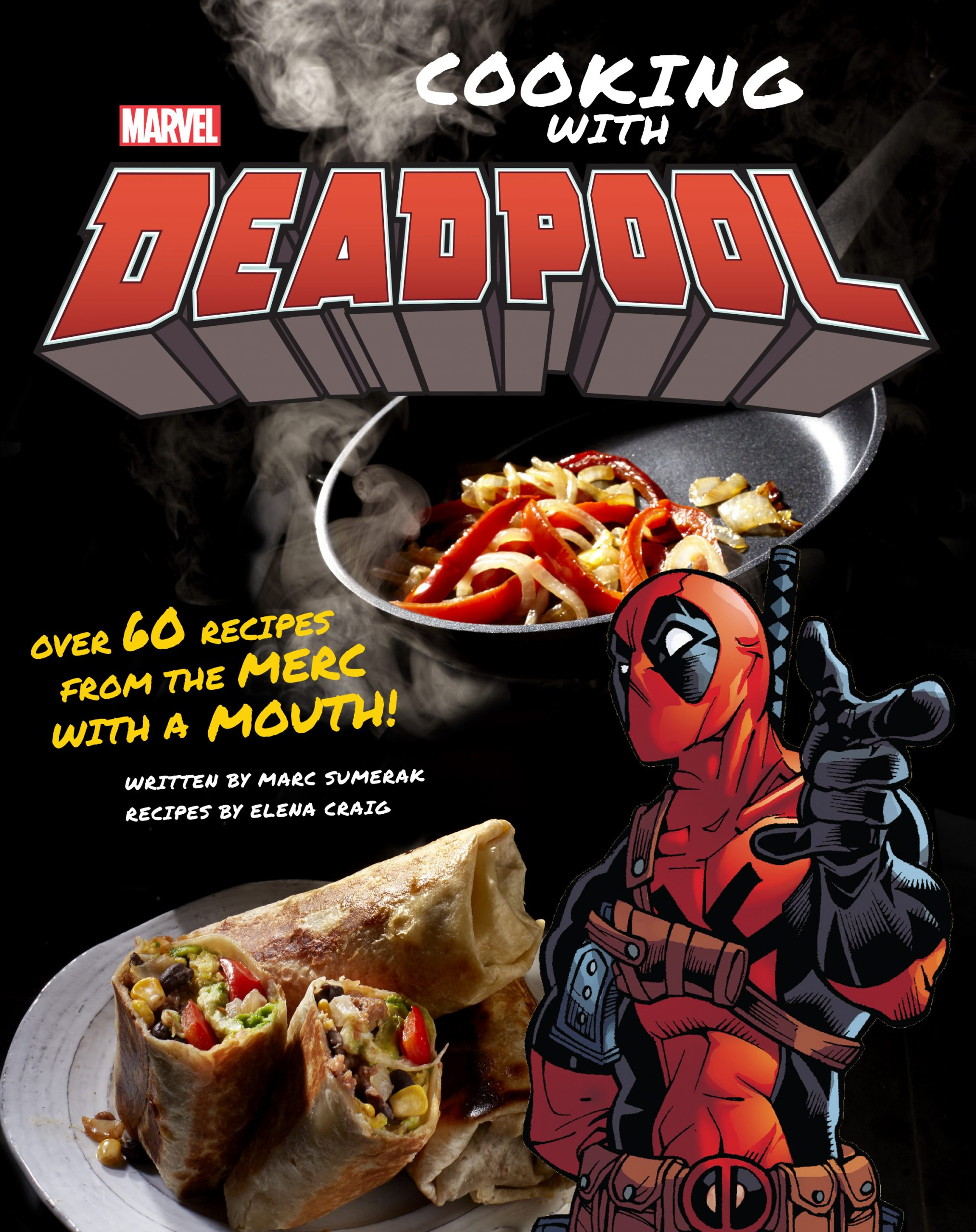 COOKING WITH DEADPOOL cover image