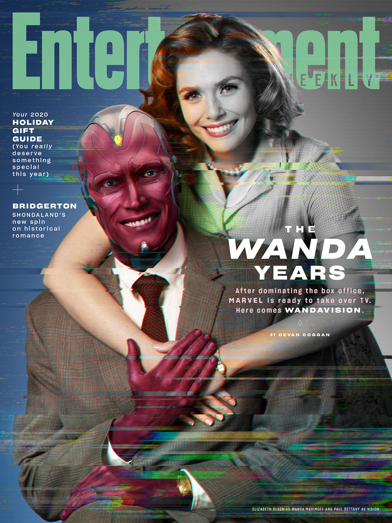 Entertainment Weekly's cover of WandaVisio