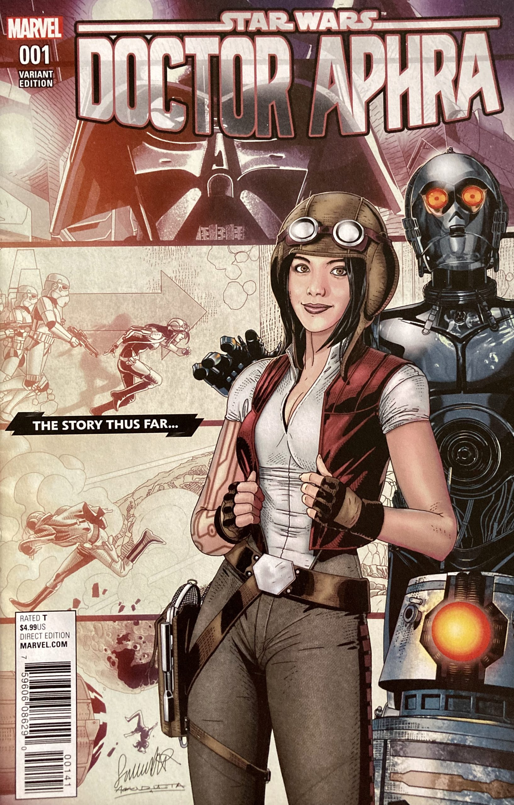 Star Wars: Doctor Aphra (2017) #1 Variant Cover
