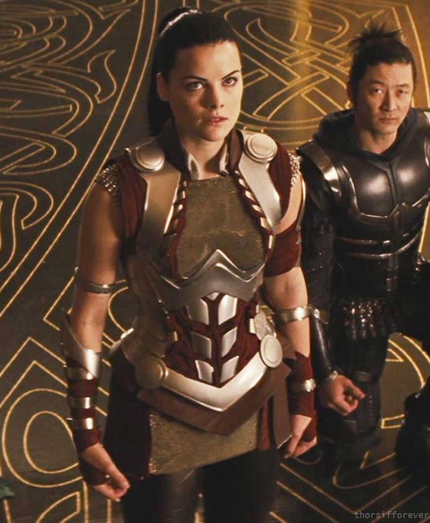 Lady Sif and Hogun in Thor