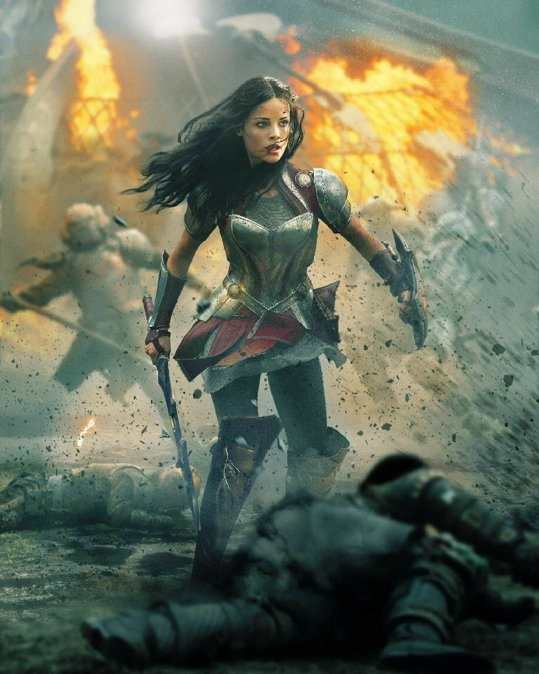 Lady Sif in Thor - The Dark World