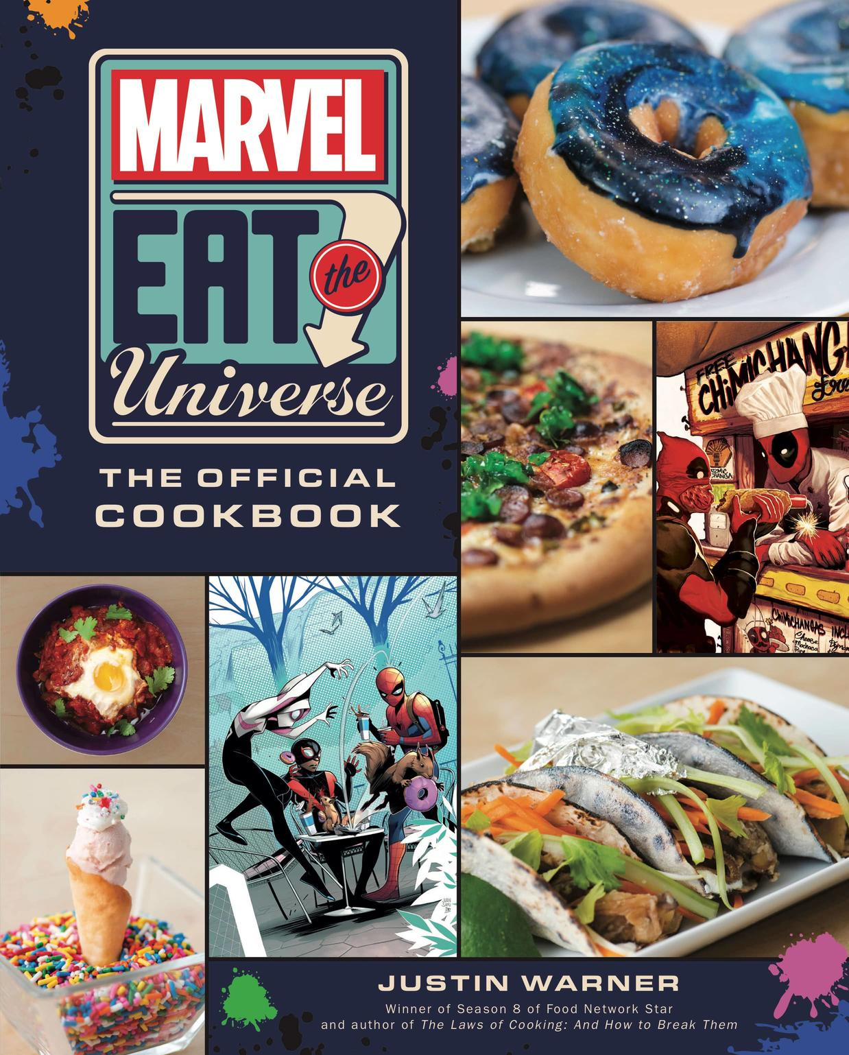 Marvel Eat the Universe The Official Cookbook Cover