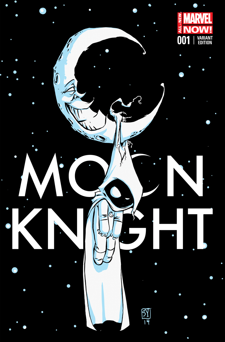 Moon Knight (2014) #1 Skottie Young Variant Cover