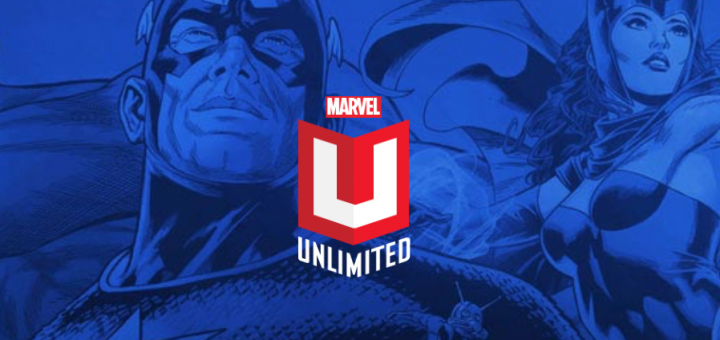 Marvel Unlimited Logo for A Guide to Marvel Unlimited