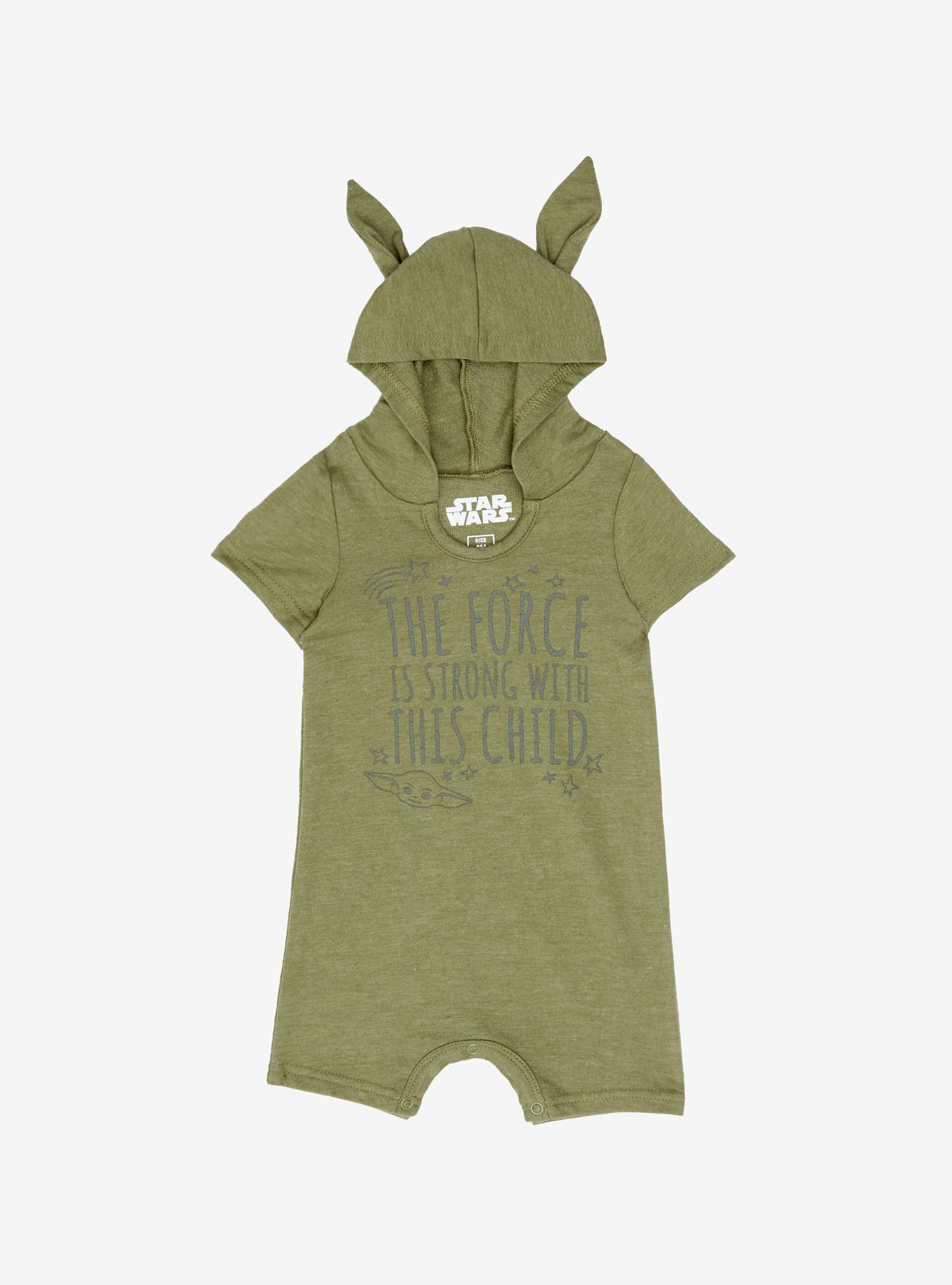 Star Wars Yoda Ears Infant One-Piece a BoxLunch Exclusive