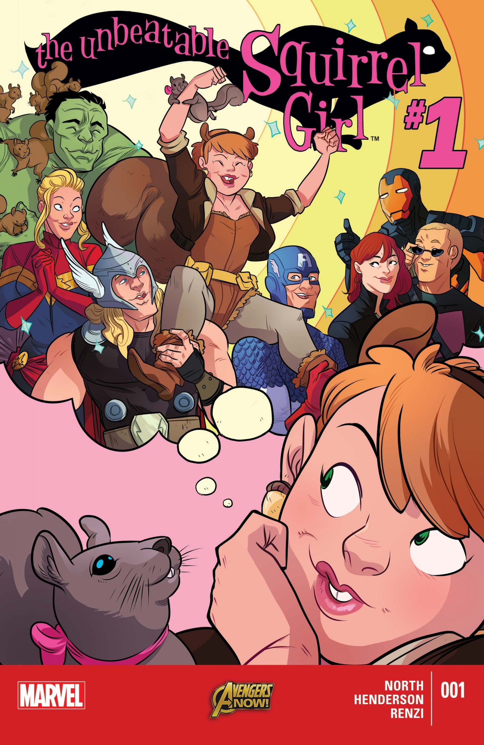 The Unbeatable Squirrel Girl (2015) #1 on Marvel Unlimited