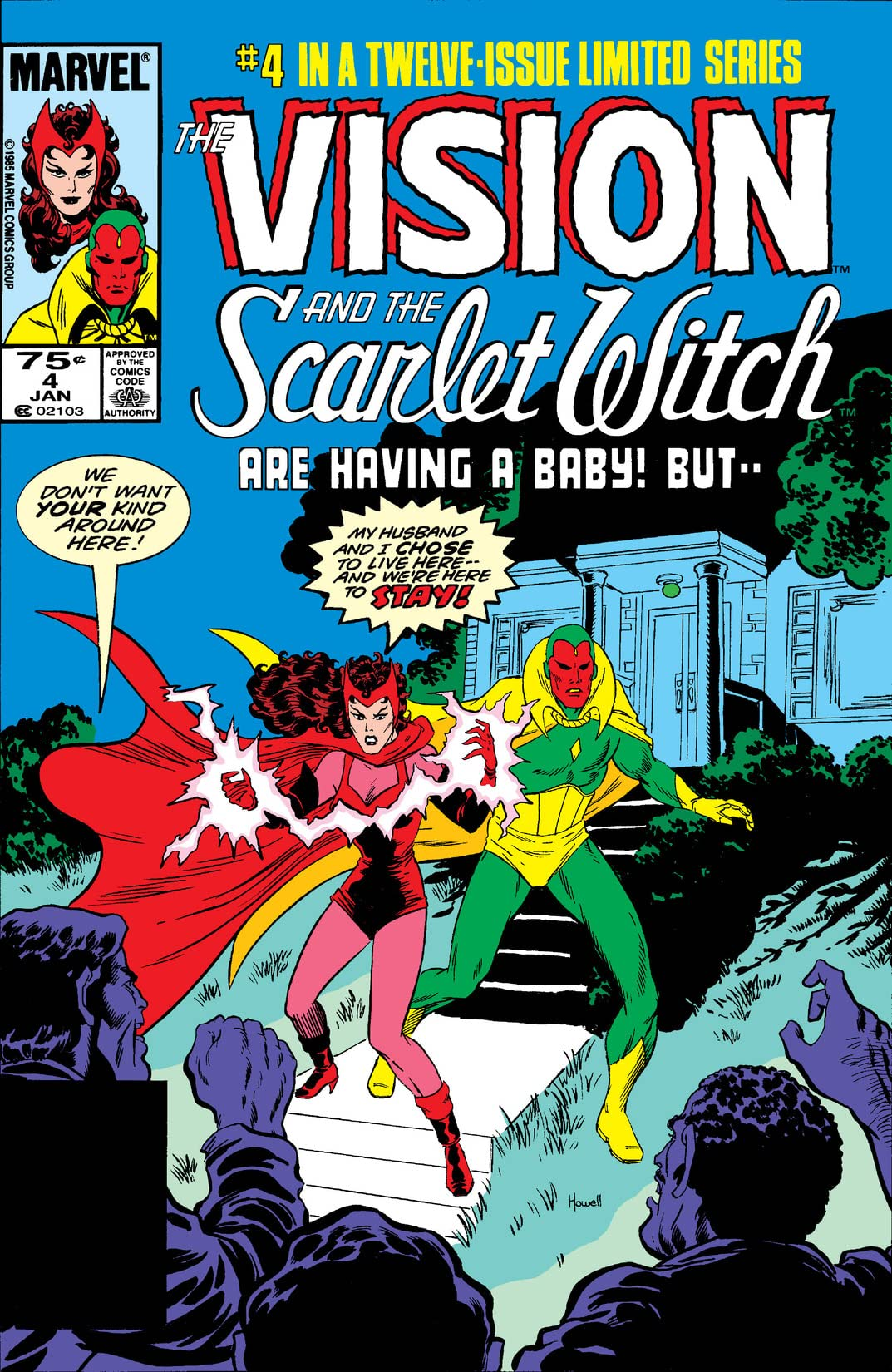 The Vision and Scarlet Witch Issue 4