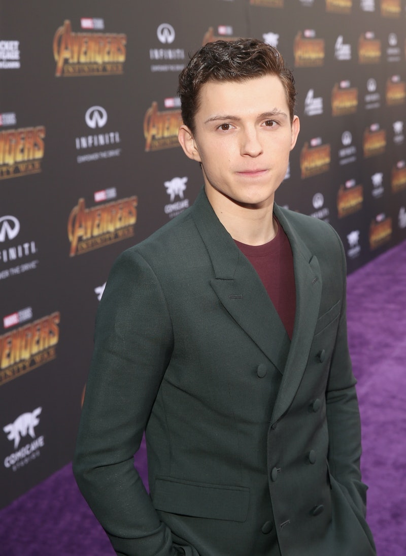 Tom Holland at Avengers Infinity War Premiere