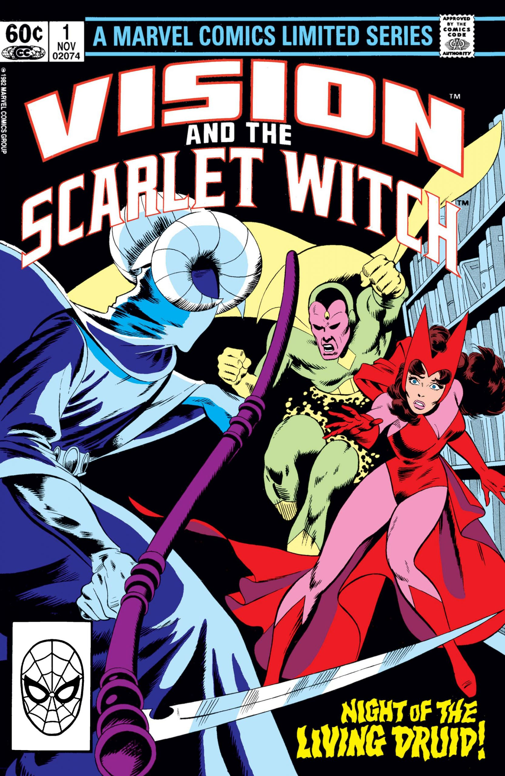 Vision and the Scarlet Witch (1982) #1 and Doctor Strange in the Multiverse of Madness