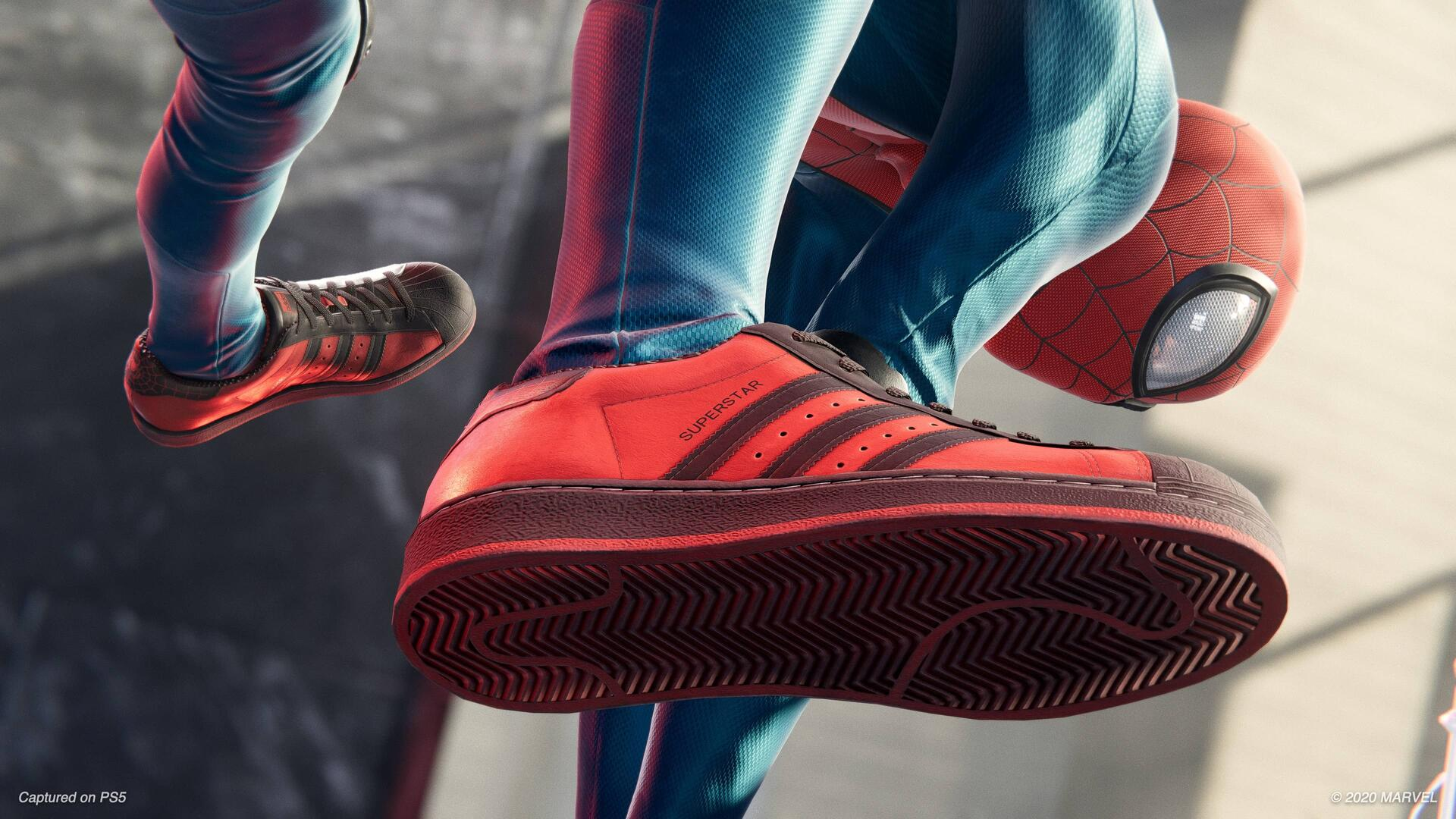 Miles Morales Sneakers on PS5