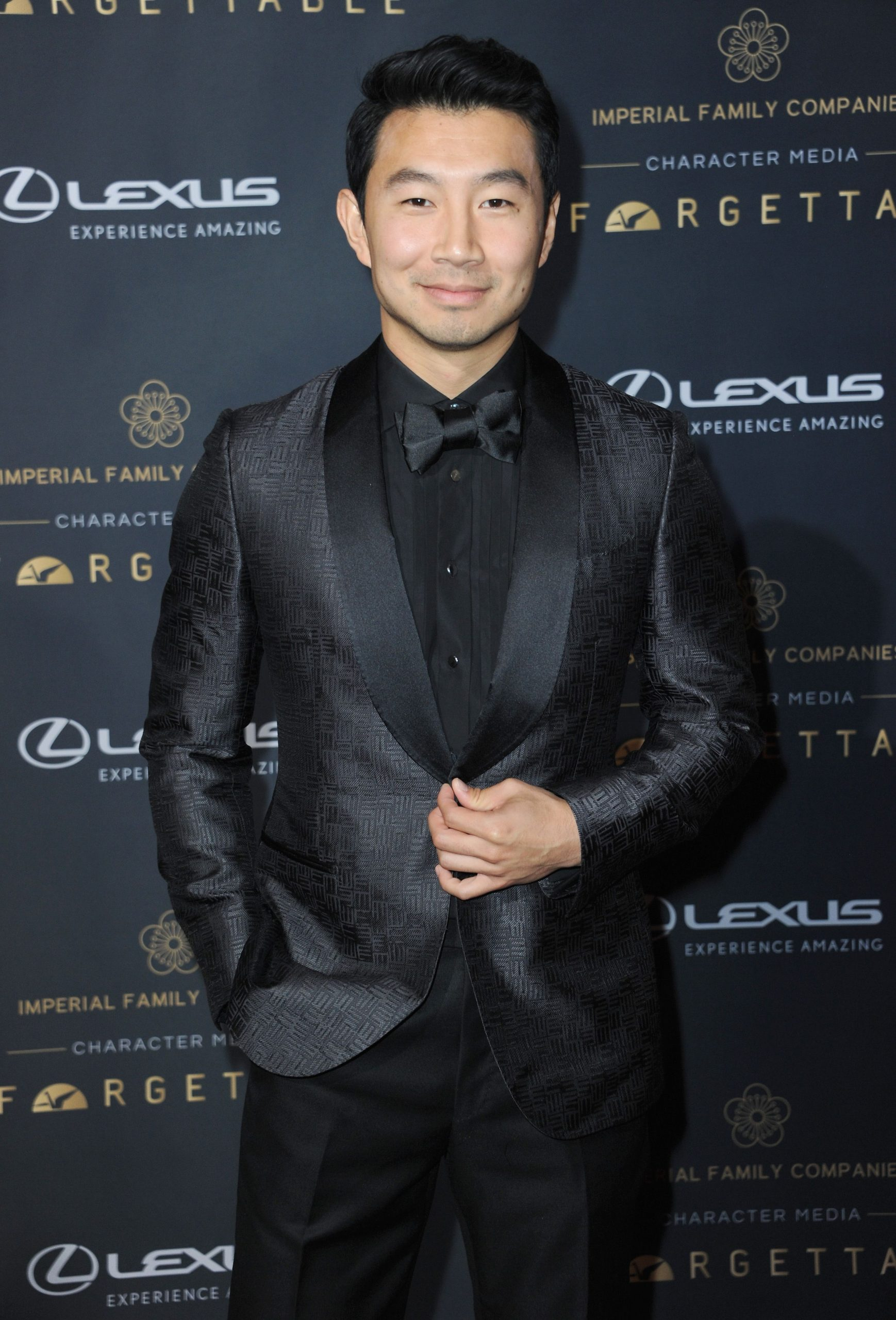 Simu Liu arrives for the 18th Annual Unforgettable Gala