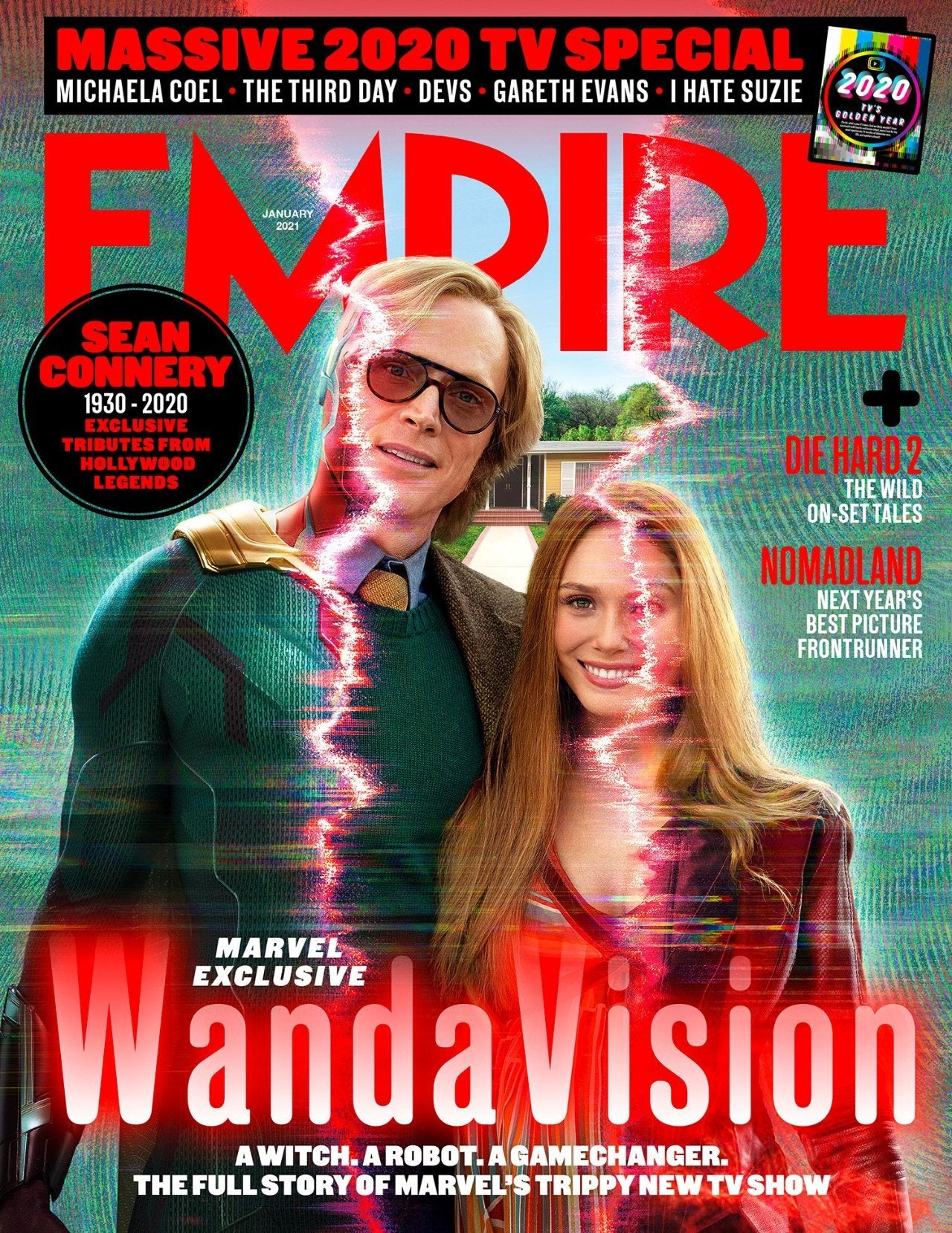Empire Magazine WandaVision cover reveal