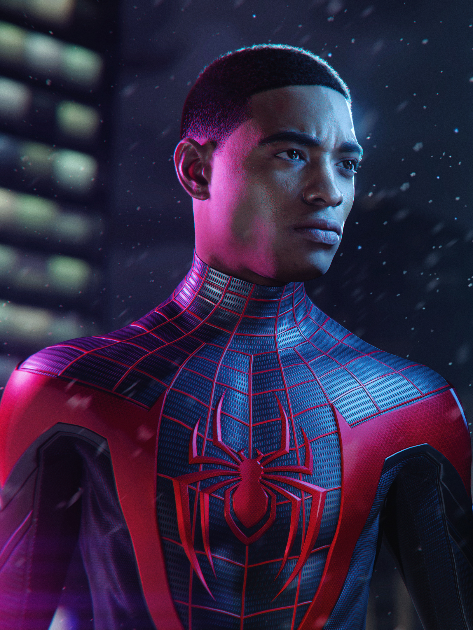 Miles Morales in Marvel's Spider-Man: Miles Morales Superstar for PS5 and PS4