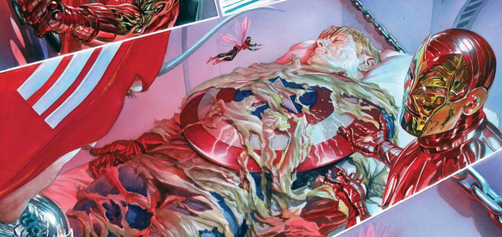 Alex Ross Preview Art for cover photo