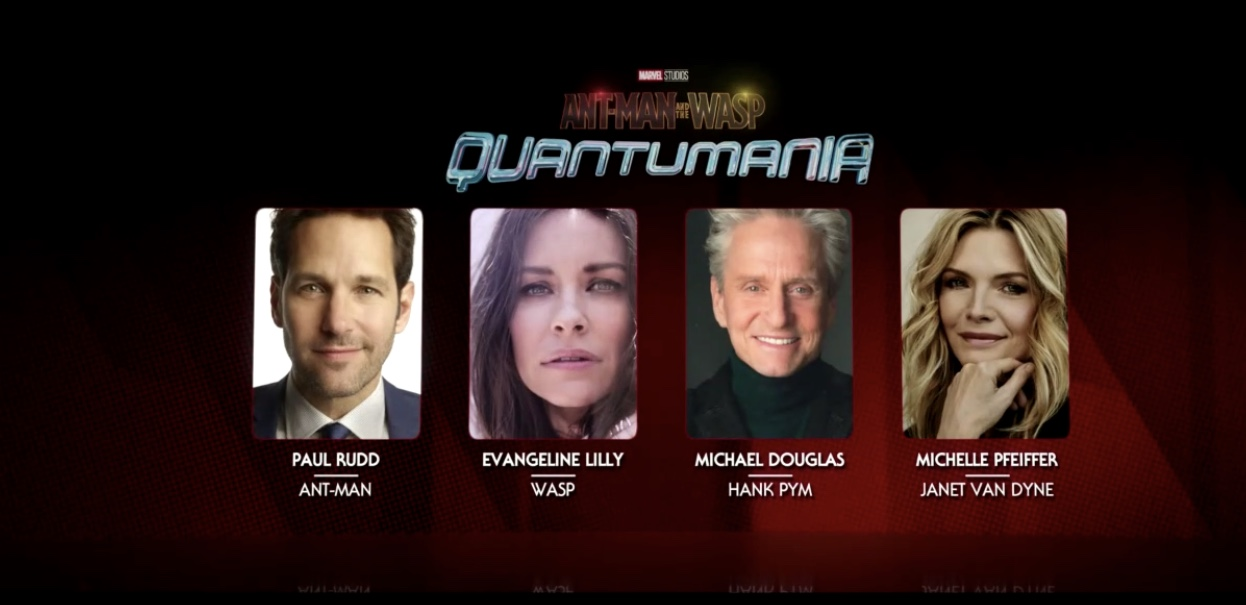 Ant-Man and Wasp: Quantumania Casting