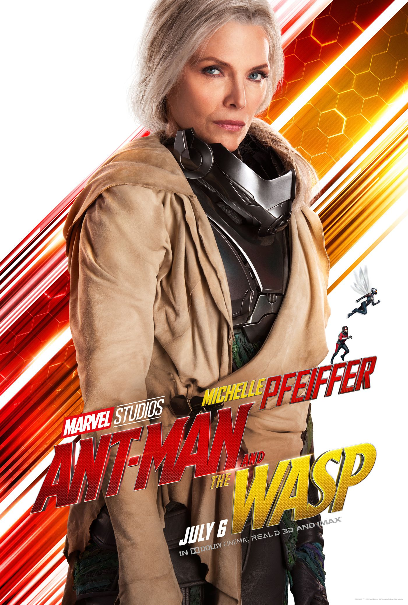 Michelle Pfeiffer in Ant-Man and the Wasp