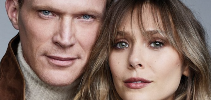 Paul Bettany and Elizabth Olsen on Emmy Cover