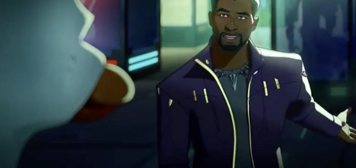 T'Challa Voiced by Chadwick Boseman and Howard the Duck