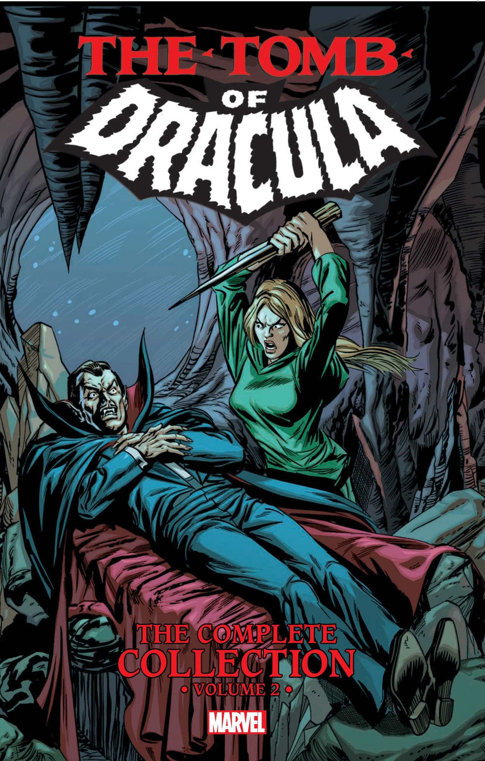 The Tomb of Dracula the Complete Collection Covert Art