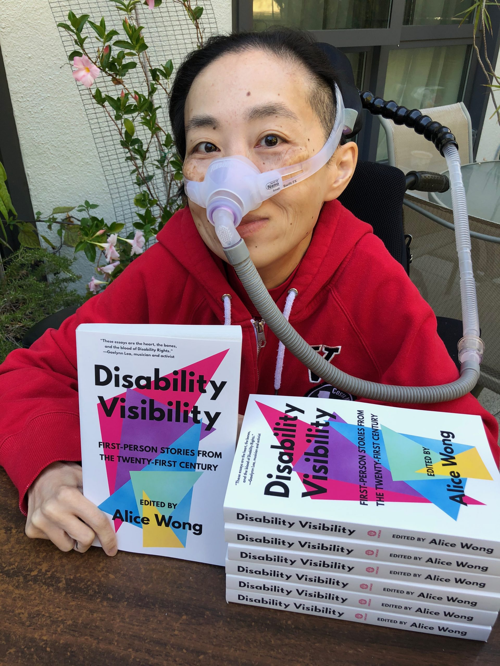 Alice Wong with Disability Visibility