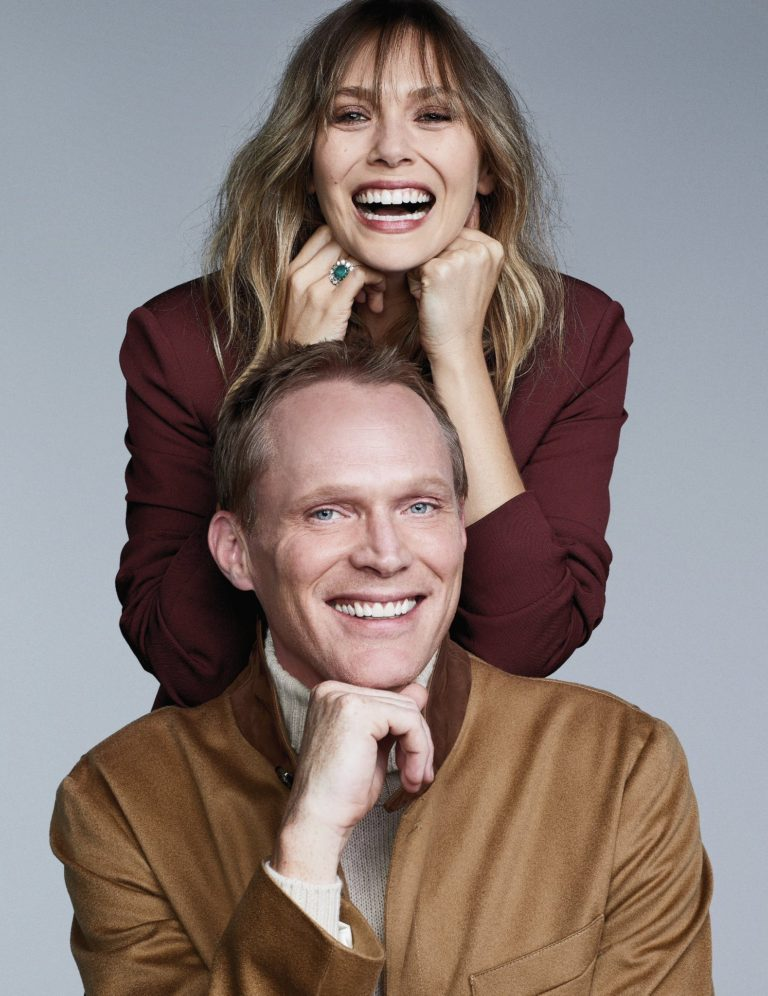 Paul Bettany and Elizabeth Olsen for Emmy