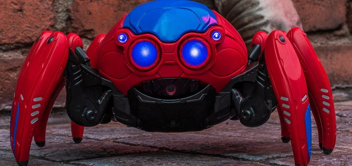 spider bot at avengers campus