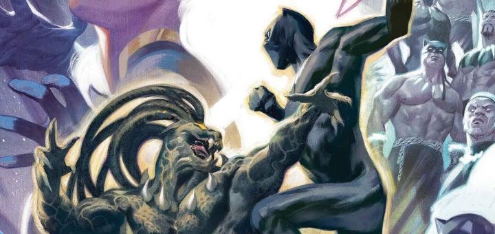 Black Panther #23 Varianrt cover for article cover