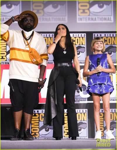 Eternals Co-Stars at SDCC19