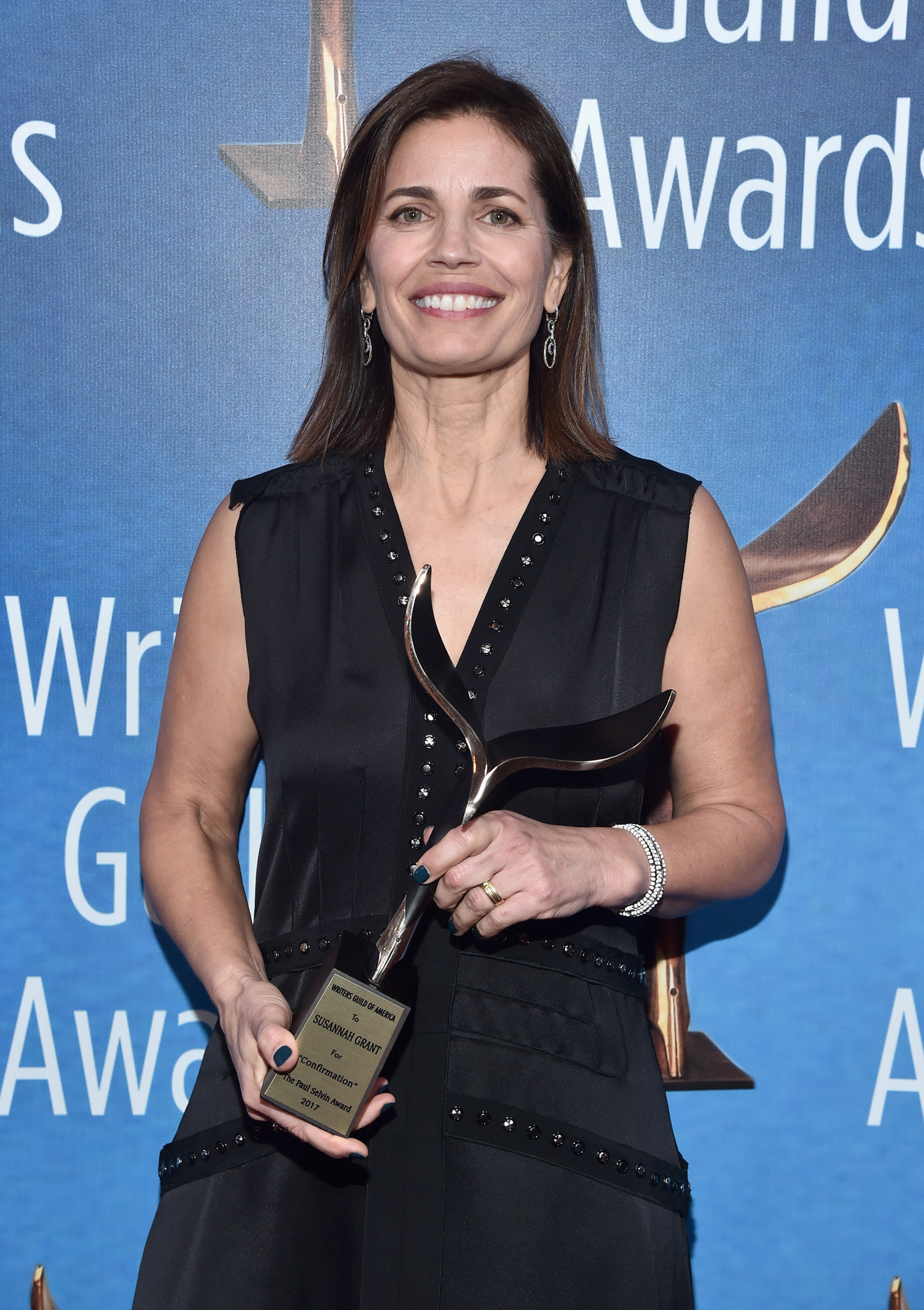 2017 Writers Guild Awards L.A. Ceremony - Inside with Susannah Grant