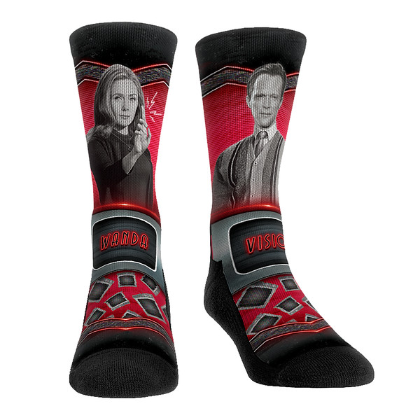 Wanda and Vision Socks for Marvel Must Haves