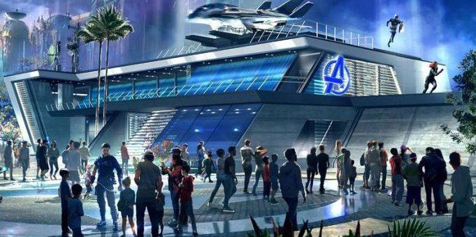 Avengers Campus Concept art