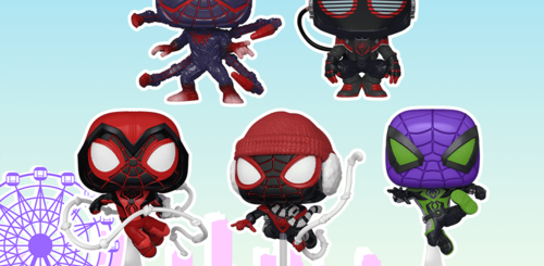 New Spider-Man Pop Figures 2