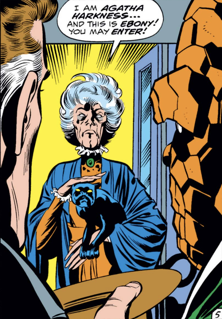 Agatha Harkness first appearance in FF