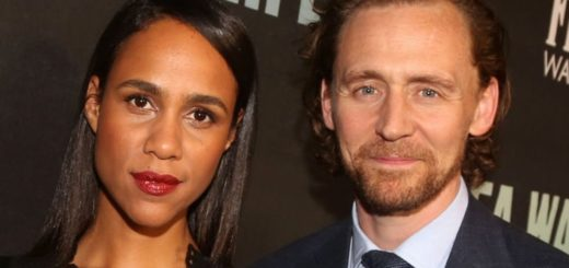Zawe Ashton and Tom Hiddleston
