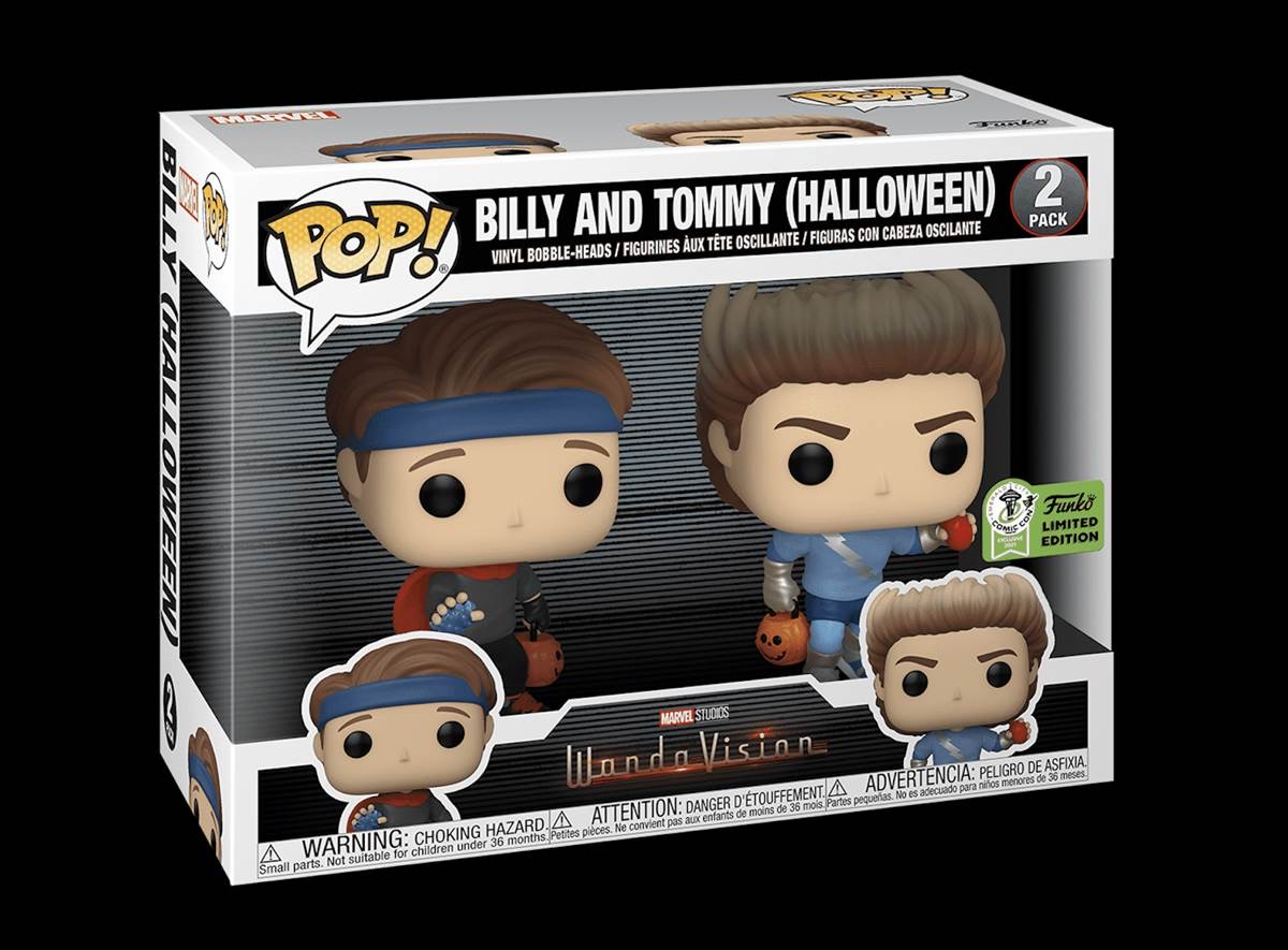 Billy and Tommy Halloween Funko WandaVision