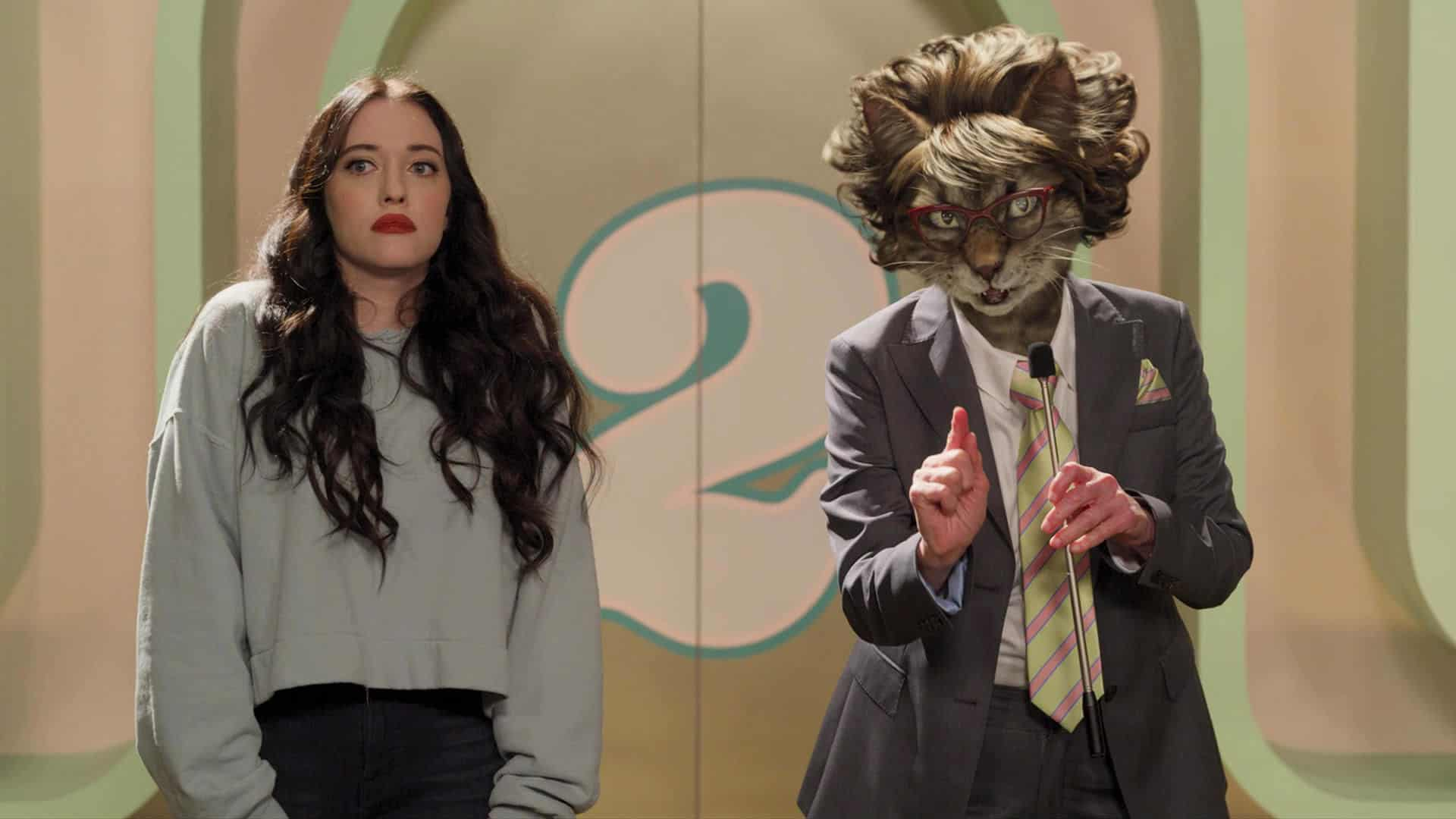 Dollface with Kat Dennings as Jules Wiley and Beth Grant as Cat Lady