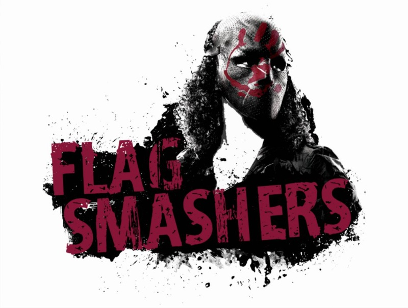 Flag Smasher Zazzle Merch from The Direct
