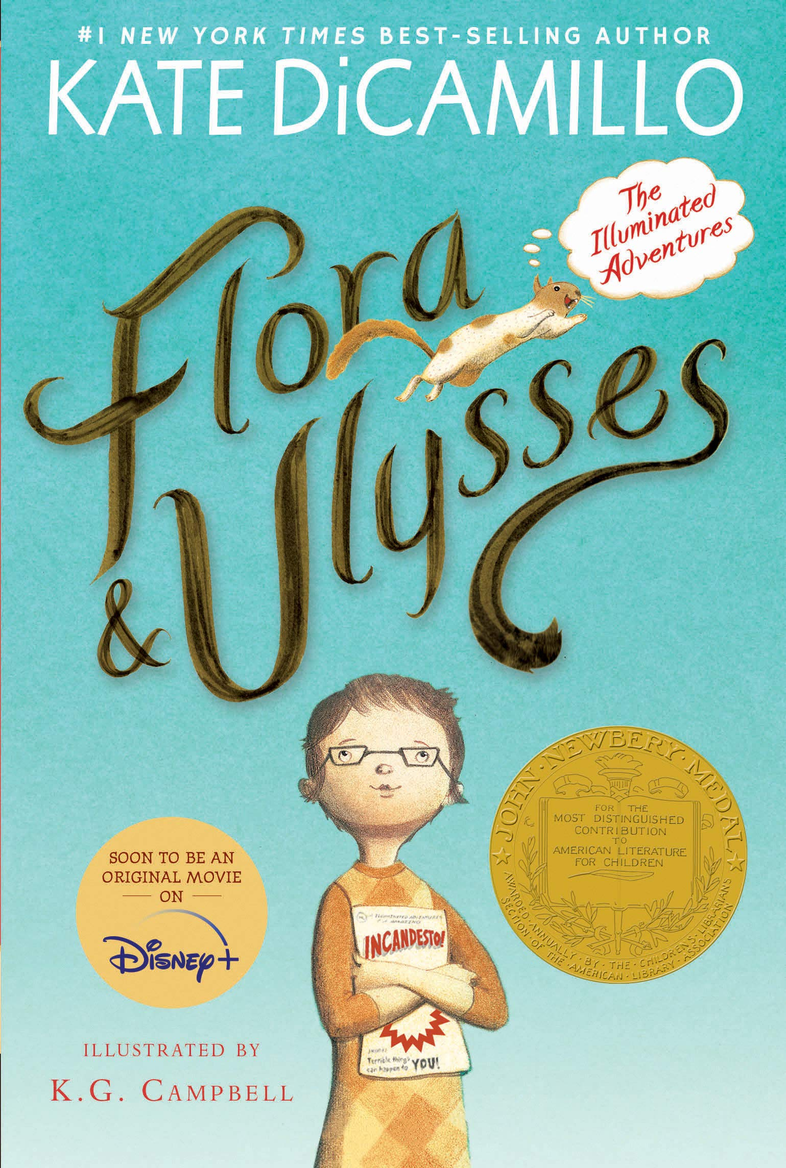 Flora and Ulysses by DiCamillo