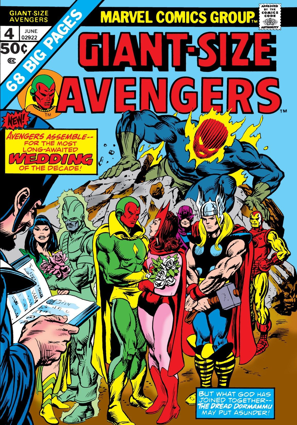 Giant-Size Avengers #4 Get Caught Reading